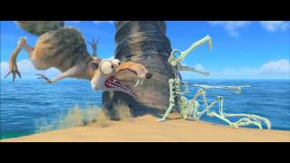 עידן הקרח 4- יבשת בתנועה Ice Age: Continental Drift 3D- טריילר מדובב